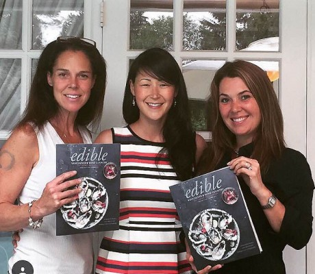 JMS Team & Edible Magazine Cover