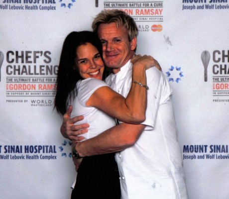 JMS Team working with Celebrity Chef Gordon Ramsey