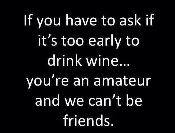 Drinks Anyone …